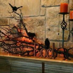 Decorarea casei cu tematica de Halloween
