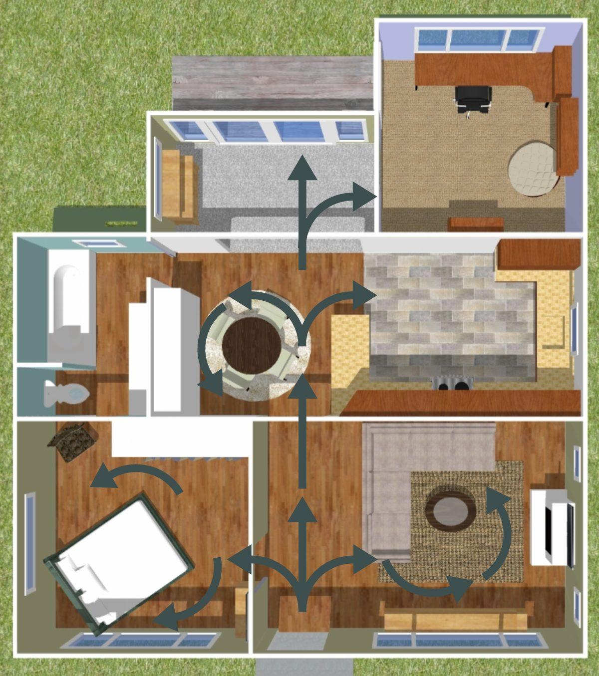 amenajarea interiorului dupa reguli feng shui inova design