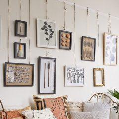 Asezarea tablourilor pe perete